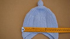 Baby Hats Knitting, Knitting For Kids, Baby Knitting Patterns, Knitted Hats, Crochet Patterns, Crochet Hats, Crochet For Boys, Crochet Round, Learn To Crochet