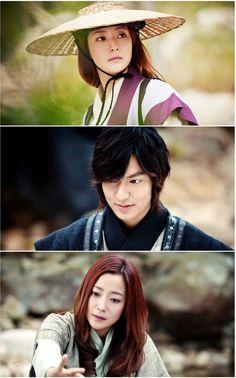 Lee Min Ho and Kim Hee Sun go back to the palace on Faith