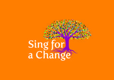 Sing for a Change brand copyright © Sing for a Change 2015 Graphic Design Print, Singing, Change, Movie Posters, Film Poster, Popcorn Posters, Film Posters