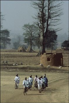 Zaria, one of the oldest Haussa cities in northern Nigeria by Bruno Barbey
