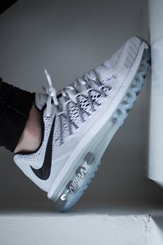 NIKE Air Max 2015 White #nike #airmax #sneakers #fashion