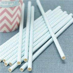 Chevron Party Paper Straws by Ginger Ray, the perfect gift for Explore more unique gifts in our curated marketplace. Chevron Bleu, Mint Chevron, Chevron Paper, Chevrons, Bleu Pastel, Pastel Mint, Décoration Candy Bar, Adult Party Themes, Wholesale Party Supplies