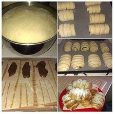 Ecco delle foto passo passo per realizzare dei golosissimi rotolini alla nutella o se volete anche marmellata! PER QUESTA RICETTA POTRETE USARE QUESTA : ht