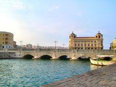 Ortigia ponte Umberto primo. Siracusa Sicilia.  I was just there!!!  11.23.2015
