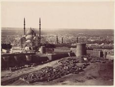 The Citadel and the Mosque of Mohammed Ali, Cairo 1870