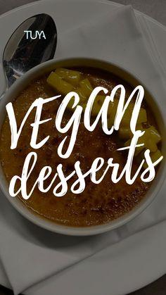 Vegan Desserts, Creme, Coconut, Food, Mango, Essen, Meals, Yemek, Eten