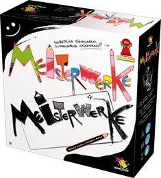 Asmodee 200737 - Meisterwerke