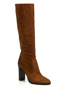 Jimmy Choo Honor 95 Suede Tall Boots