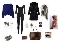 """Sin título #224"" by nancyplazasoler-1 on Polyvore featuring moda, Valentino, ZAC Zac Posen, Chanel, WithChic, Kate Spade y Louis Vuitton"
