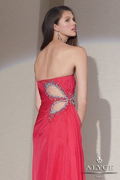 Alyce Paris | Alyce Dress Style #6951 (back  view)
