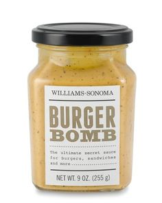Burger Bomb- mayo, dill, pickles, ketchup, worcestershire, spicy brown mustard, spices