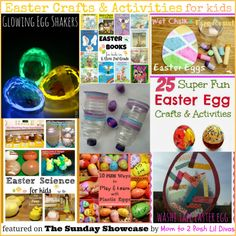 awesome & easy Easter Crafts & Learning Activities for kids - perfect for home and school!