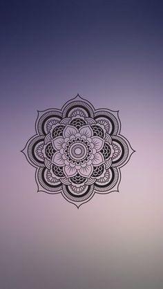 Imagem de mandala, wallpaper, and blur wallpapers telefon ar Mandala Doodle, Mandala Art Lesson, Mandala Drawing, Mandala Tattoo, Easy Mandala, Phone Screen Wallpaper, Mobile Wallpaper, Wallpaper Backgrounds, Iphone Wallpaper