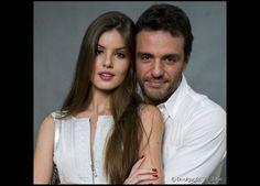 Camila Queiroz e Rodrigo Lombardi interpretam Angel e Alex, casal protagonista da novela das onze 'Verdades Secretas'