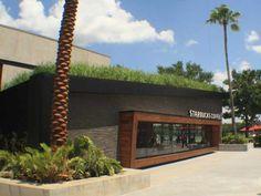 The Starbucks Green Roof, Downtown Disney, Walt Disney World; Photo Courtesy of Starbucks