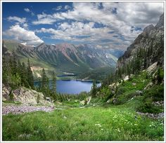 Weminuche Wilderness - Emerald Lake/Little Emerald Lake   Flickr - Photo Sharing!