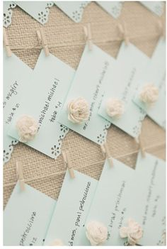 Use Border bunch-out's for added design - sitting cards, etc..