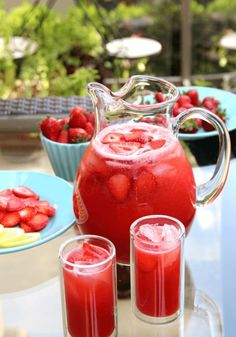 Best Homemade Lemonade Recipes | Homemade strawberry lemonade