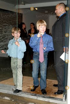 20.05.2003 Lady Helen Windsor's Children Cassius and Columbus -Opening of the New Timothy Taylor Gallery in Dering Street, London Photo By:oliver Polter/alpha/Globe Photos, Inc 2003