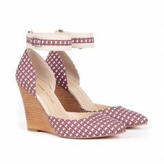 Love these Wedge Shoes, with Ankle Straps