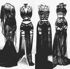 Plus size sexy lingerie. be sexy, be proud - Press VISIT link above for more options👩👱🏻♀️ -- Plus size seductive lingerie xx Gothic Outfits, Edgy Outfits, Mode Outfits, Fashion Outfits, Vampire Outfits, Vampire Dress, Fashion Tips, Fashion Mode, Dark Fashion