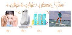 4 Steps to Summer Fun #CoolaNuface Summer