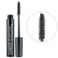 Clinique - High Impact Mascara in Black - the only mascara that doesn't sting my eyes & no clumps.   #sephora