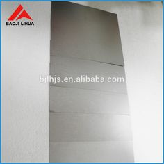 99.95% tungsten sheet tungsten plate metal with factory price