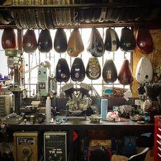 Garage #motorcycleculture #culturamotera | caferacerpasion.com
