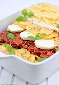Ziemniaczana lazania Lazania Recipe, Squash Zucchini Recipes, Potato Lasagna, International Recipes, Main Dishes, Cooking Recipes, Yummy Food, Favorite Recipes, Food And Drink