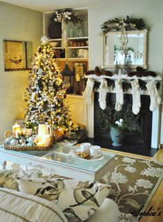 Sophia's: Christmas in the Living Room