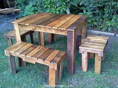 Pallet Ideas : Want to improve your home with wooden pallet furniture? We're the right place for you. Click and get to know lots of pallet ideas. Pallet Crafts, Diy Pallet Projects, Pallet Ideas, Wood Projects, Woodworking Projects, Wooden Crafts, Woodworking Wood, Pallet Furniture Plans, Furniture Projects
