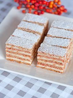 Sipak asks (In Croatian; use Chrome to translate) Croatian Cuisine, Croatian Recipes, Baking Recipes, Cookie Recipes, Dessert Recipes, Easy Desserts, Delicious Desserts, Polish Desserts, Torte Cake