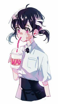 #animegirl #short-hair
