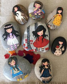 Painted Rock Ideas - Do you need rock painting ideas for spreading rocks around your neighborhood or the Kindness Rocks Project? Art Painting, Hand Painted, Rock Painting Art, Art Projects, Art, Painting Crafts, Arts And Crafts, Easy Paintings