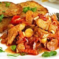 Recept : Katův šleh a bramboráčky | ReceptyOnLine.cz - kuchařka, recepty a inspirace Kung Pao Chicken, Menu, Ethnic Recipes, Fine Dining, Menu Board Design