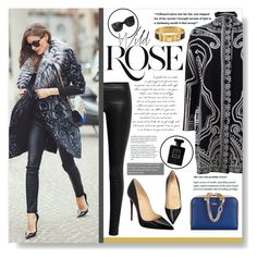 """""""Get the LOOK: Olivia Palermo"""" by kseniyaroma ❤ liked on Polyvore featuring Etro, Chloé, The Row, Christian Louboutin, Chanel, Wild Rose, CC SKYE, GetTheLook, StreetStyle and OliviaPalermo"""