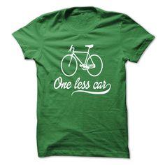 One Less Car T Shirt, Hoodie, Sweatshirt