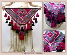 make your own tribal dance tassel belt Belly Dance Belt, Belly Dancers, Tribal Fusion, Dance Outfits, Hippie Outfits, Estilo Tribal, Tribal Costume, Tribal Belly Dance, Larp