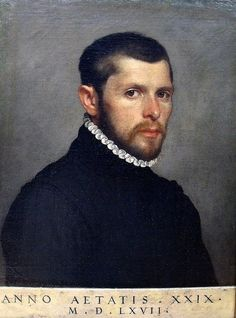 Giovanni Battista Moroni (Italian c. [Renaissance, Mannerism, Portrait] Portrait of a Man, Renaissance Portraits, Renaissance Paintings, Diego Velazquez, National Gallery, Italian Paintings, Renaissance Men, 29 Years Old, Chef D Oeuvre, Art Graphique