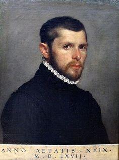 Portrait d'un gentilhomme agé de 29 ans, Giovanni Battista Moroni, 1567