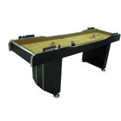 7u0027 Shuffleboard Game Table
