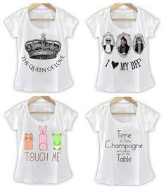 t-shirt feminina da moda - Pesquisa Google