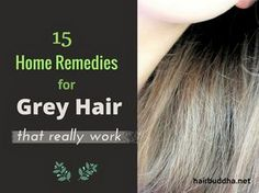 15 Home Remedies for Grey Hair (and Natural Hair Colours)