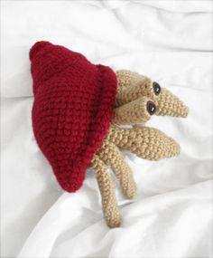 Buy Herman the hermit crab pattern - AmigurumiPatterns.net