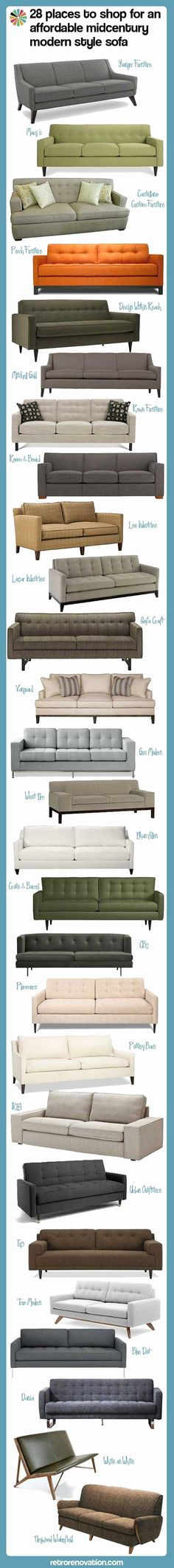 places to shop for an affordable midcentury modern style sofa 28 affordable mid century modern sofas — Retro affordable mid century modern sofas — Retro Renovation Midcentury Modern, Danish Modern, Modern Interior, Lohals, Retro Sofa, Best Decor, Mid Century Modern Sofa, Retro Renovation, Living Room Inspiration