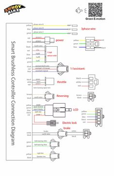 Electric Bike Controller    Wiring       Diagram    Within E   electric scooter project   Electric bike kits