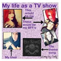 """""""My life as a tv show 2.0"""" by katlanacross ❤ liked on Polyvore featuring art"""