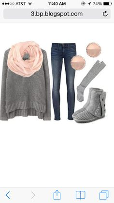 Cute lazy day outfit for school