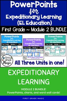 Journeys lesson plans first grade lesson 8 teaching resources powerpoints for expeditionary learning first grade module 2 bundle fandeluxe Image collections